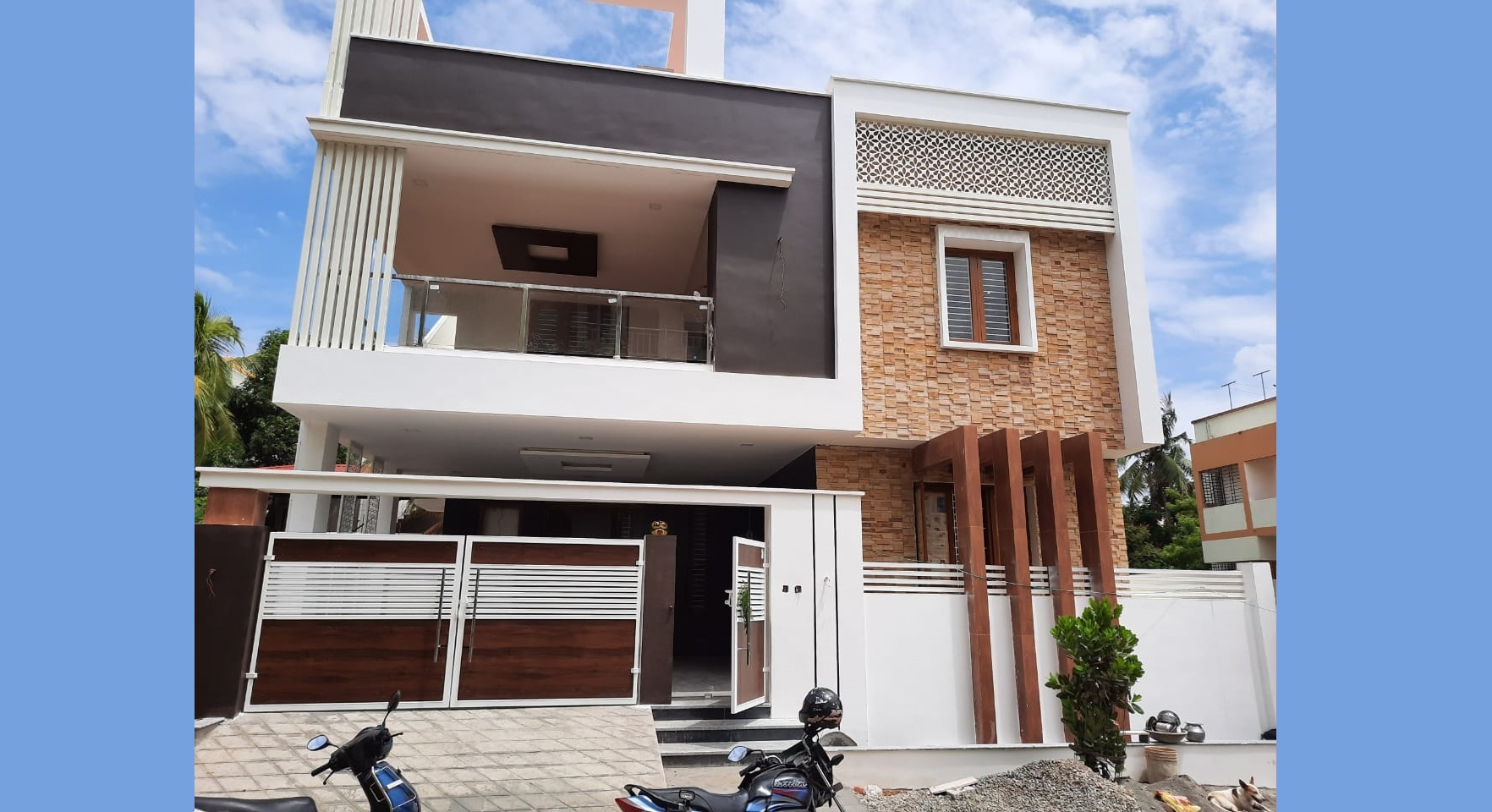 Duplex Independent House